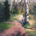 Natures Trail by Brenda Thour