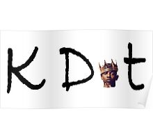 Kendrick Lamar K Dot Poster