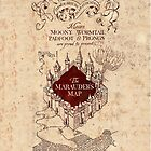 The Marauder's Map Phone Case by Jen *