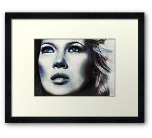 Blue Kate Framed Print