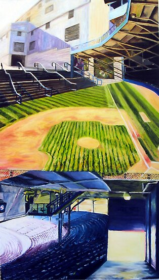Tiger Stadium- Industry by Christopher Ripley