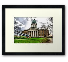 Imperial War Museum London HDR Framed Print