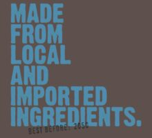 ingredients: local and imported Kids Clothes