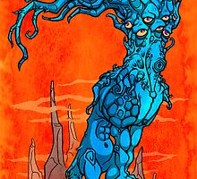 Mountain Tree-Monster by omnipro
