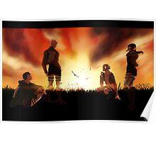 Shingeki no Kyojin: Sunset Poster