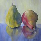 A Pair of Pears by Mrswillow