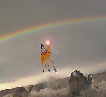 Jet Camel Blast Off from Bahawalpur Spaceport by Kenny Irwin