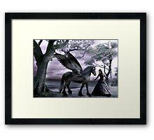 Rhiannon's Ride Framed Print