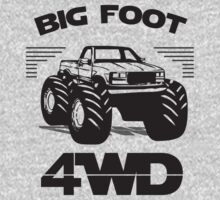 mini 4wd bigfoot by deembiy
