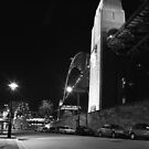 Harbour Bridge from Fort Street Revisited by DavidIori