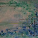 seascape of lines and circles by Inese