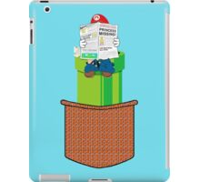 pocket mario iPad Case/Skin