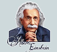 Albert Einstein - Theoretical Physicist by Everett Day