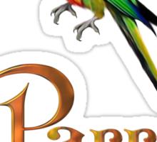 Parrot lover Sticker