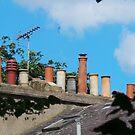 Chimney Pots in Islington by Paulychilds