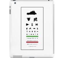 Eye Chart - 80s Movies iPad Case/Skin