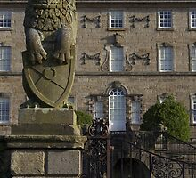 On Guard at Pollok House by John Messingham