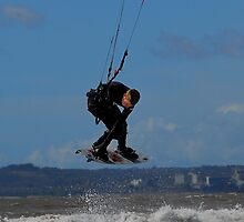no 9 wind surfers @ aberavon beach wales uk by zacco
