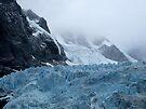 Glacier, Drygalski Fjord by John Douglas