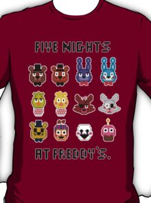 Five Nights at Freddy's. T-Shirt