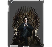 Sherlock Holmes: Game of Thrones iPad Case/Skin