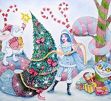 Christmas in Wonderland by Wil Zender