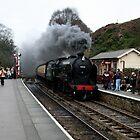 Steam Train by ScarlettRose