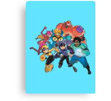 Big Hero 6 Team - Marvel Canvas Print
