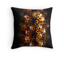 Ladybird Cavern Throw Pillow