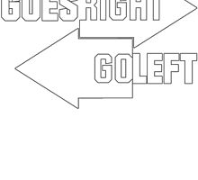 When Nothing Goes Right Go Left by mccdesign