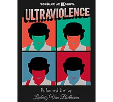 Ultraviolence Pop Photographic Print