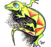 Juana the Iguana by mago