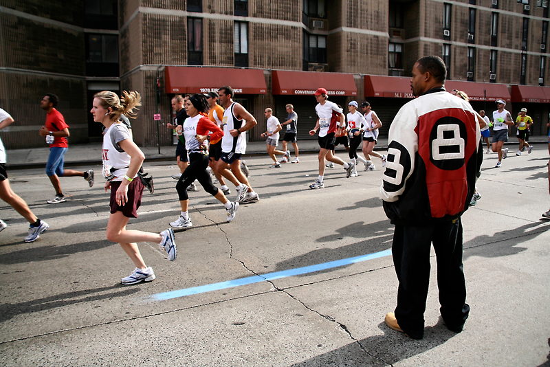 Marathon New York by Elodie