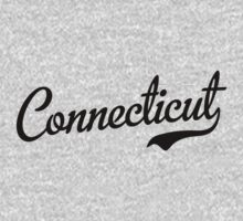 Connecticut Script Black by USAswagg