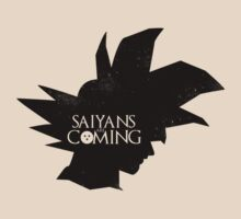 Saiyans are Coming by designjob