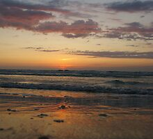 Sunset on Sand Key by Phillip Moore