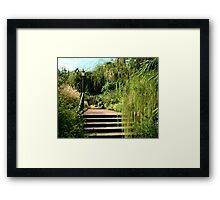 Stairway to Serenity Framed Print