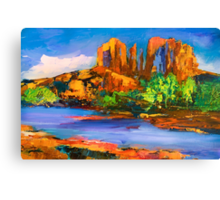 Cathedral Rock Afternoon Canvas Print