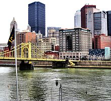 Pittsburgh Skyline by Lyndsay81