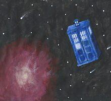 Galaxy Tardis by heirofbreath