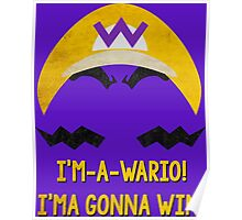 I'm-a-Wario! Poster