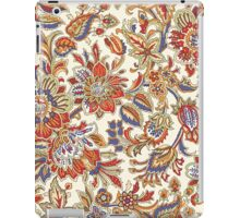 Abstract Flower Pattern iPad Case/Skin