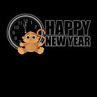 Happy New Year - Monkey by Adamzworld
