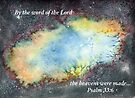 The Bang - Psalm 33:6 by Diane Hall