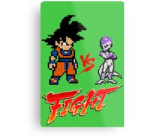 Goku Vs Frieza 8MB Metal Print