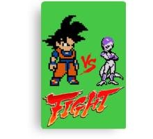 Goku Vs Frieza 8MB Canvas Print