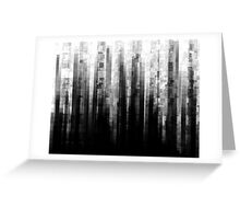Broken Pixels Greeting Card