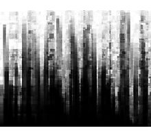 Broken Pixels Photographic Print