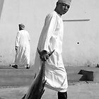 Tuna Fisherman, Muscat, Oman by marycarr