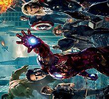 Avengers by obdobuk